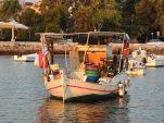 Korfu, kalastusvene