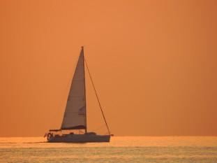 Korfu, purjehtija
