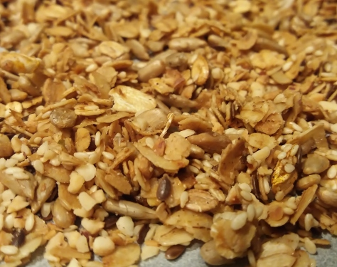 granola-uunista