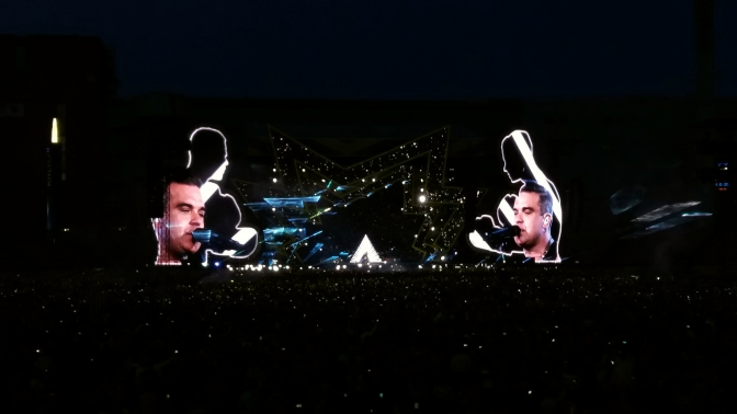 Robbie Williams!
